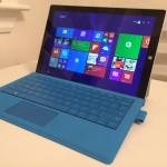 最強タブレットPC!? Surface Pro 3 レビュー