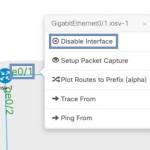 VIRL: GUIでのインタフェースの無効(disable)/有効化(enable)の方法